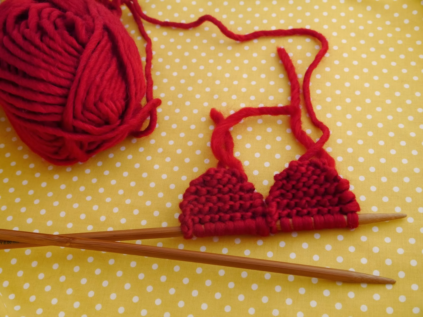 Free Pattern: Knitted Heart Julie & The Knits