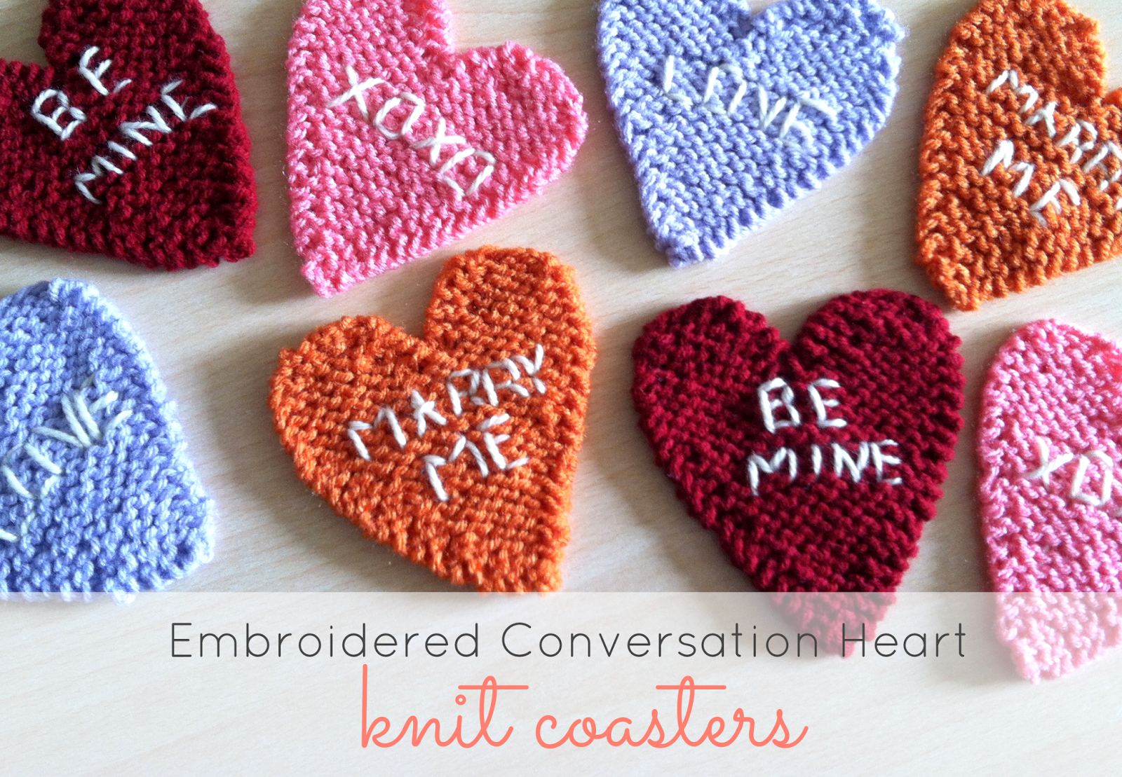 Brittany\'s Embroidered Hearts – Julie & The Knits