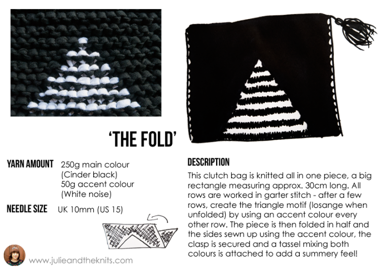 WATG Clutch Bag Design by Julie Picard