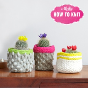 Mollie Makes How To Knit images