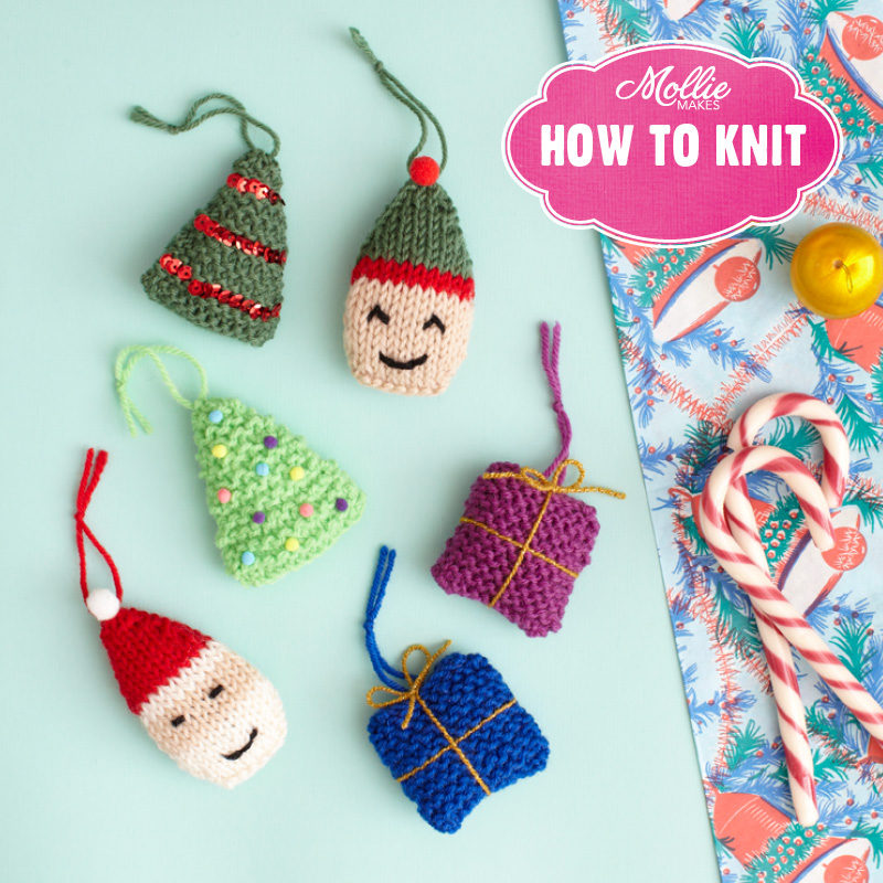 How to Knit By Mollie Makes