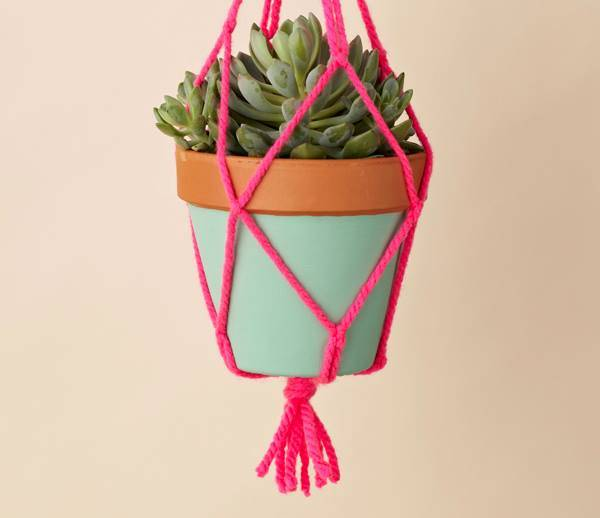 Macrame Plant Holder Tutorial