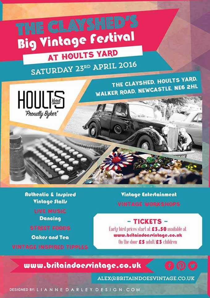 The Clayshed's Big Vintage Festival, Newcastle