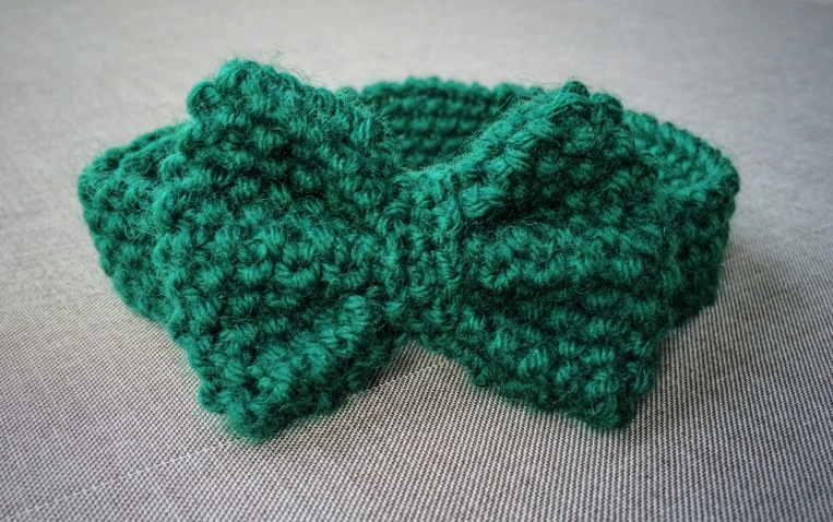 Dapper Knitted Bow Tie