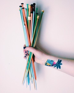 My Knitting Needles
