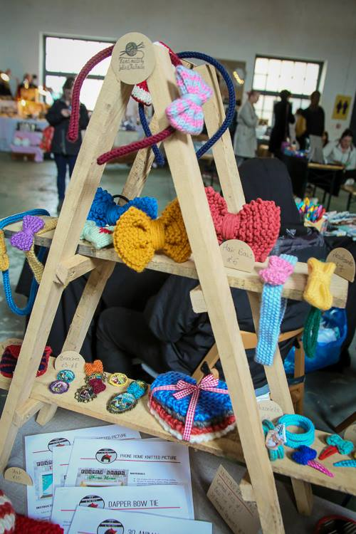 Julie And The Knits stand - Britain Does Vintage