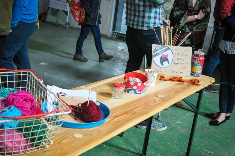 Knitting Workshop - Britain Does Vintage